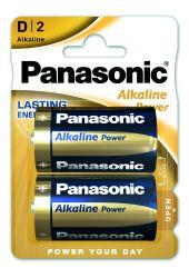 D-batteri, Alkaline Power (LR20) 2-pack
